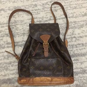 29d60db522fc Louis Vuitton Bags - AUTHENTIC LOUIS VUITTON MONTSOURIS MM BACKPACK BAG